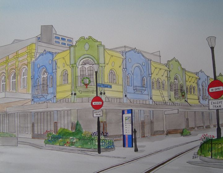 New Regent Street in Summer - Adam Darlingford