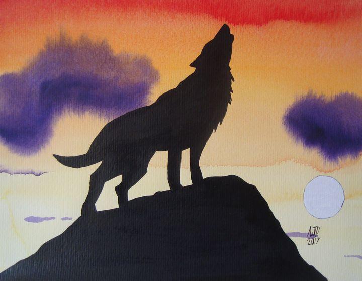 Lone wolf - Adam Darlingford