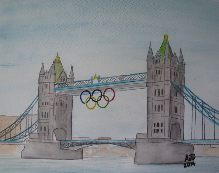 Tower Bridge Olympics Rings - Adam Darlingford