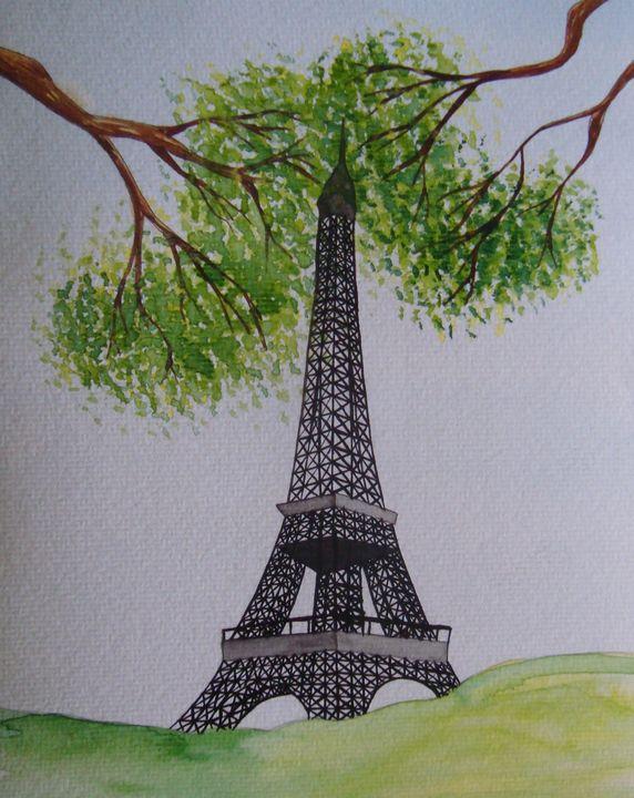 Eiffel Tower in Summer - Falcon Peak Gallery