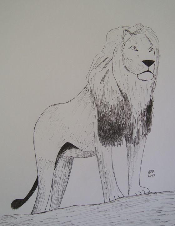 King of the beasts - Adam Darlingford