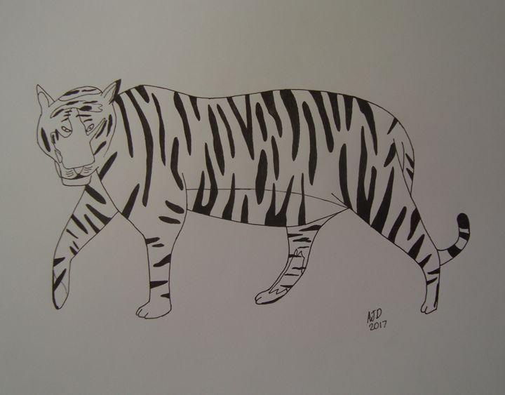 Lone tiger - Adam Darlingford