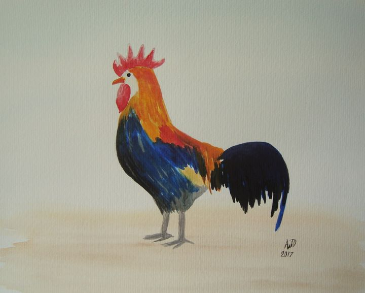 Brown Leghorn Rooster - Adam Darlingford