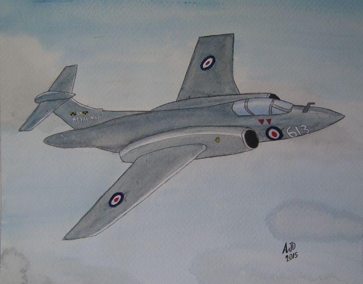 Royal Navy Buccaneer - Adam Darlingford