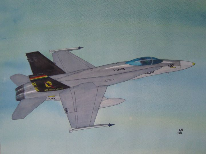 U.S. Navy Hornet - Adam Darlingford