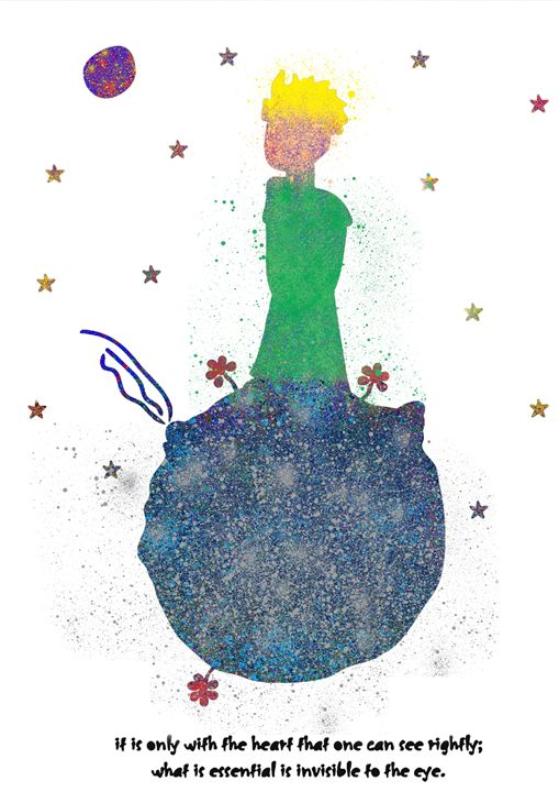 The little prince - Lukas Prints