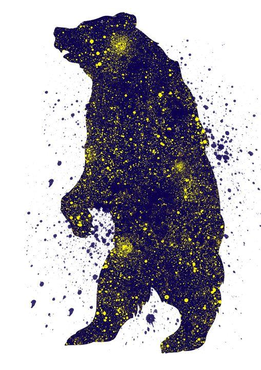 Standing bear - Lukas Prints