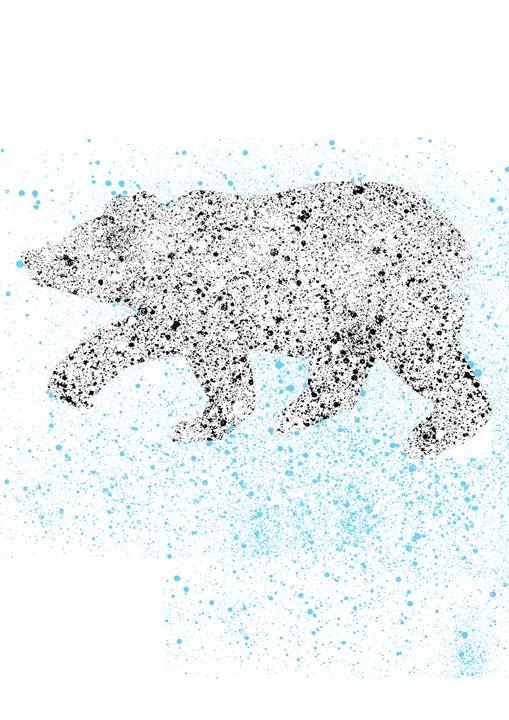 white bear - Lukas Prints
