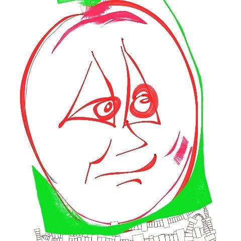 Apple face - Ruben Torrez