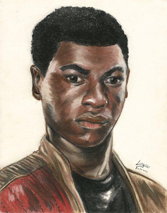 John Boyega as Finn from Star Wars - 3-PiCO Fandom Crafts