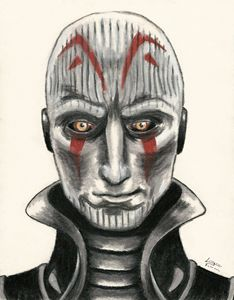 The Grand Inquisitor from Star Wars