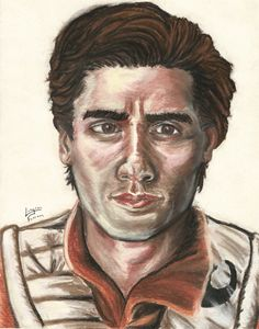 Oscar Isaac as Poe from Star Wars