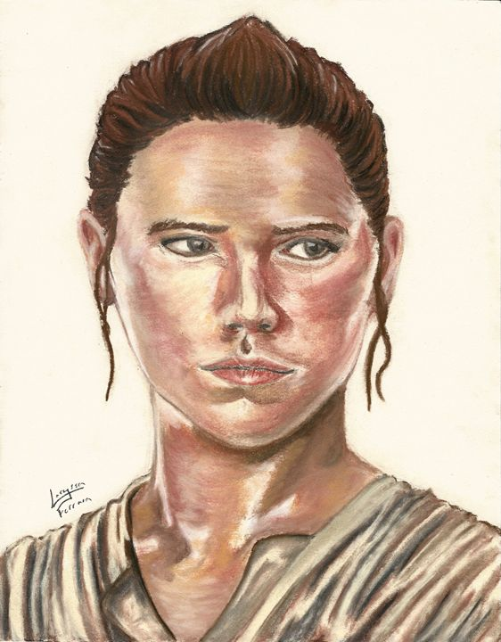Daisy Ridley as Rey from Star Wars - 3-PiCO Fandom Crafts