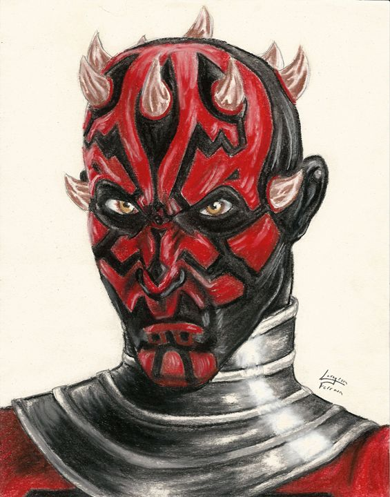 Darth Maul from Star Wars TCW - 3-PiCO Fandom Crafts