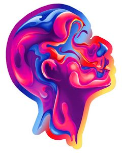 The colorful Head