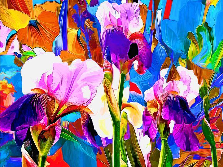 Lily in the field - Kamoufleur