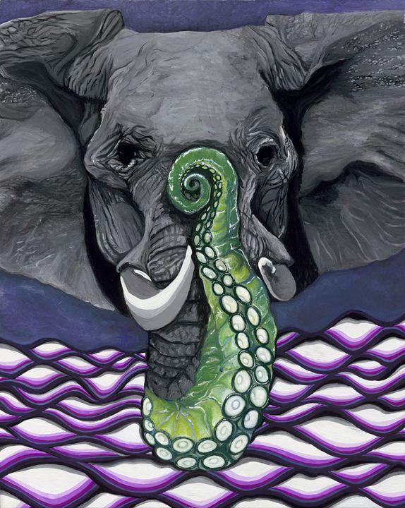 Elephus - Jo Shmo Art