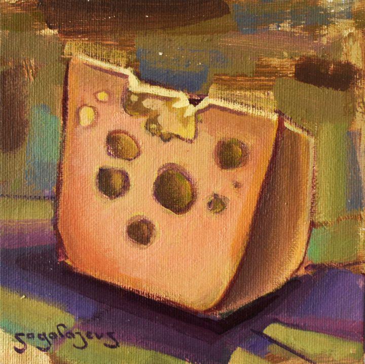 Cheese block - Sagalajevs