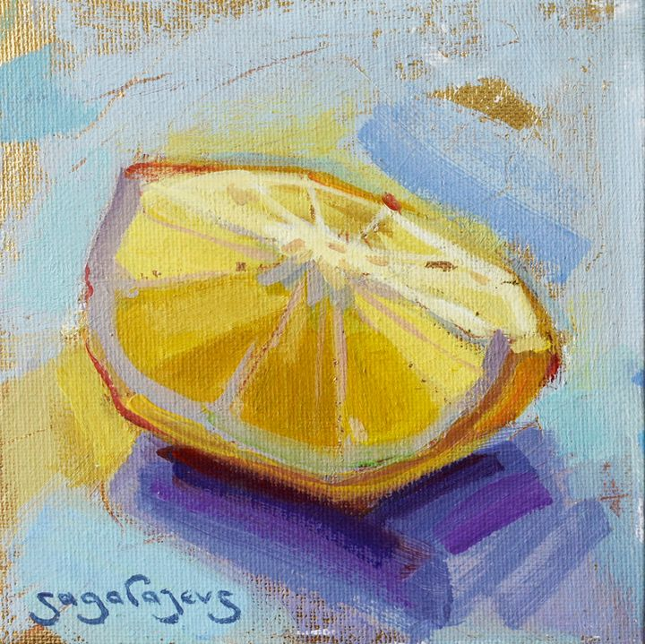 Lemon slice - Sagalajevs