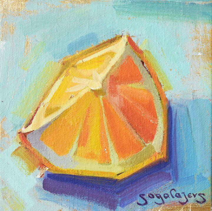 Slice of orange - Sagalajevs