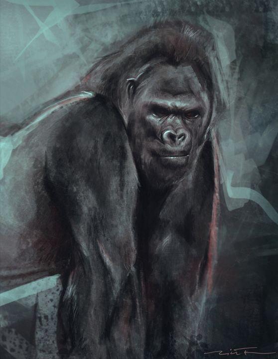 Gorilla - Nicole Fisher Art & Design