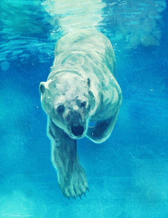 Polar Bear - Nicole Fisher Art & Design