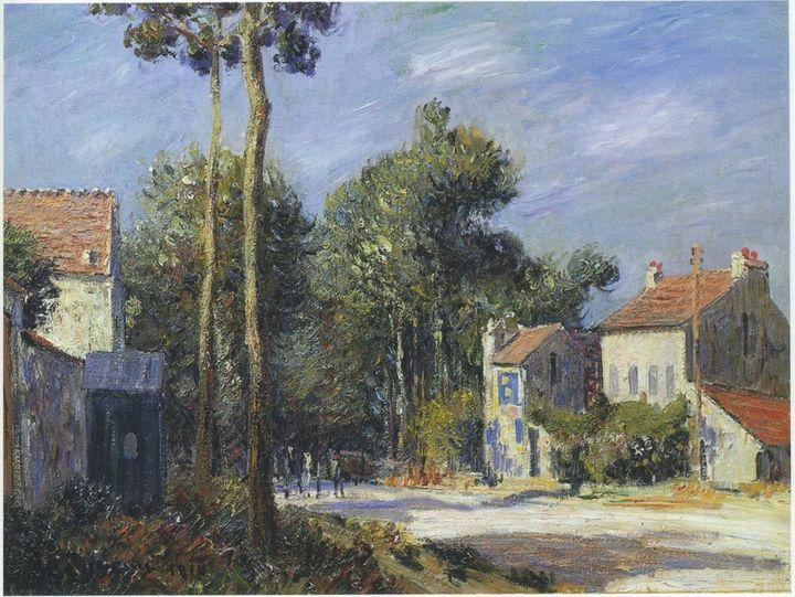 Road to Versilles - APE Paintings & Drawings