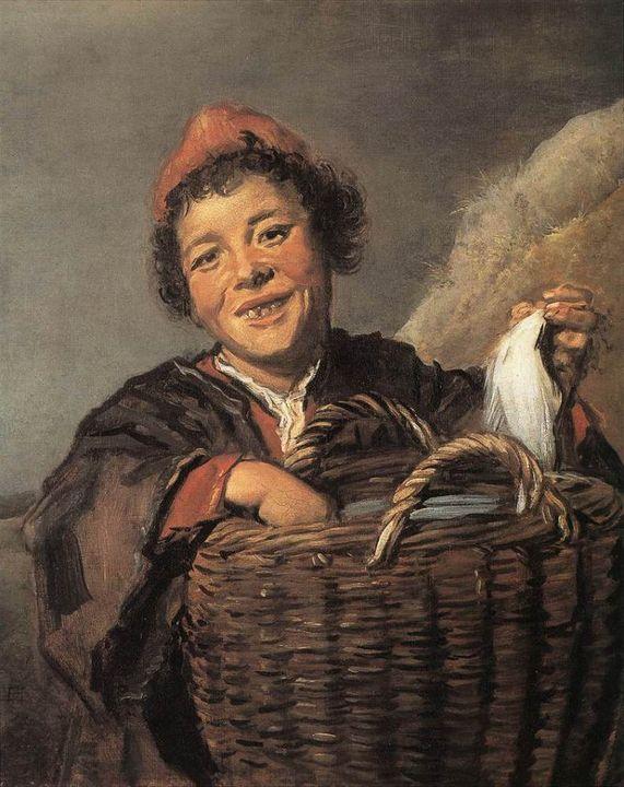 Fisher boy - APE Paintings & Drawings