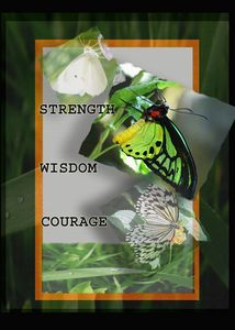 Strength Wisdom Courage - blackqueen50