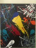Original Abstract on Canvas