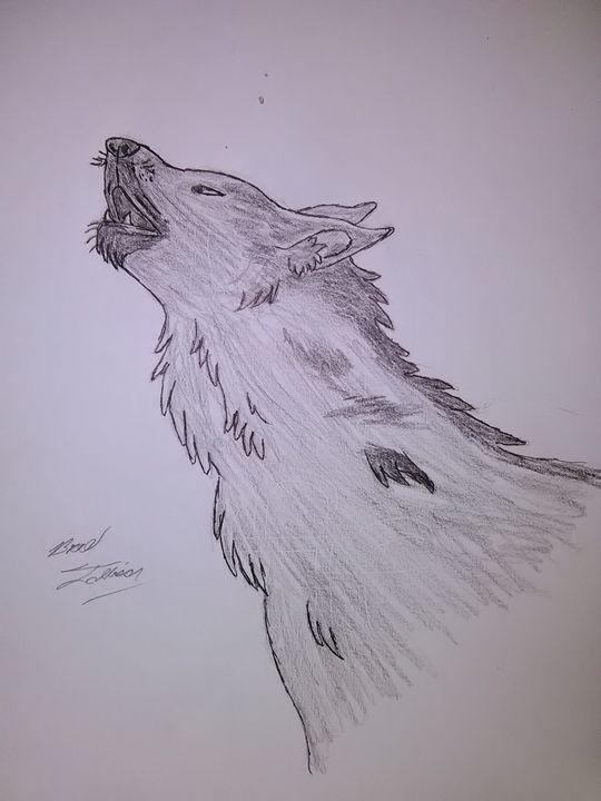 Howling wolf - PITBULL