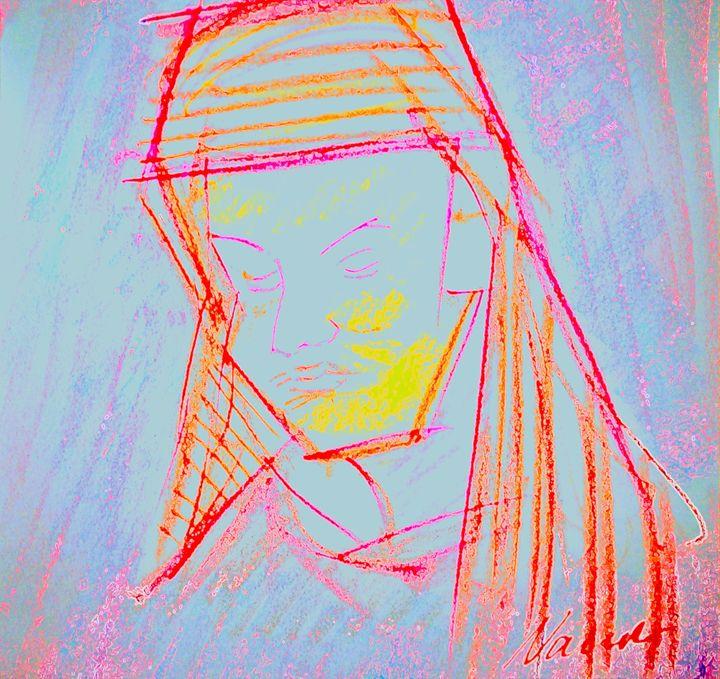 Lady at church - Nader Fahami