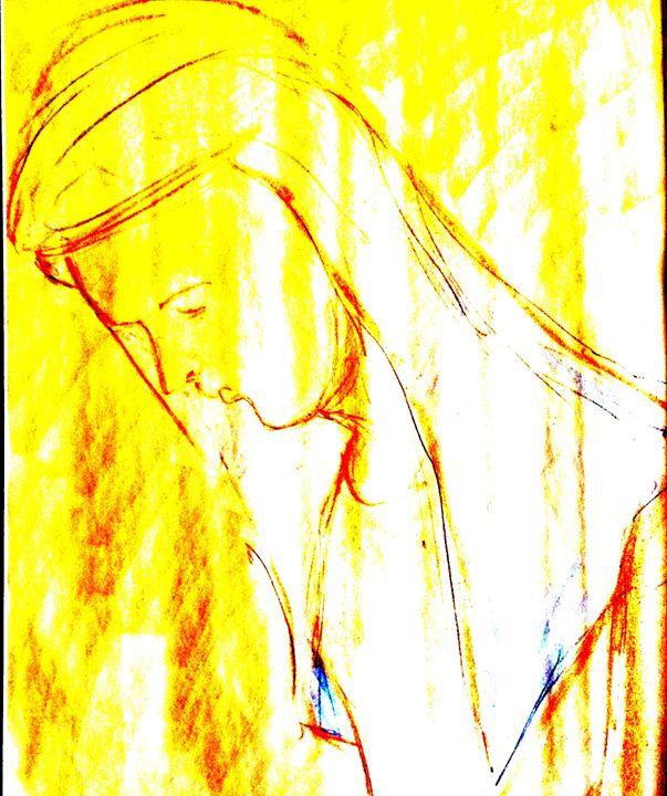 praying at church - Nader Fahami