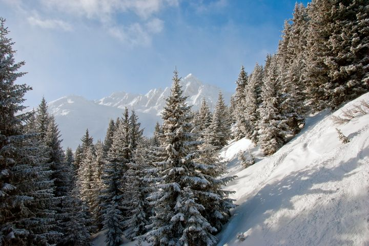Courchevel 3 Valleys Alps France - Andy Evans Photos