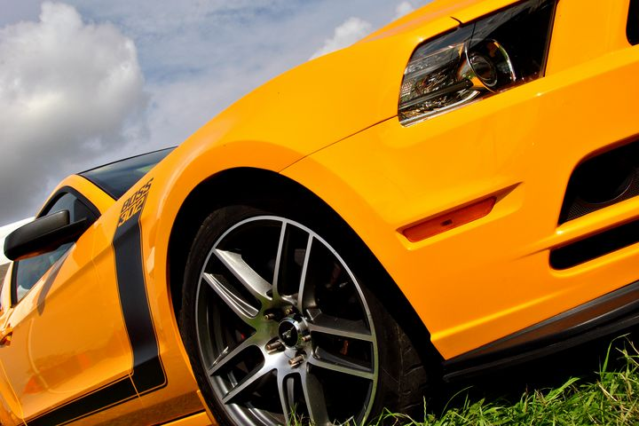 Ford Mustang GT Classic American Mot - Andy Evans Photos