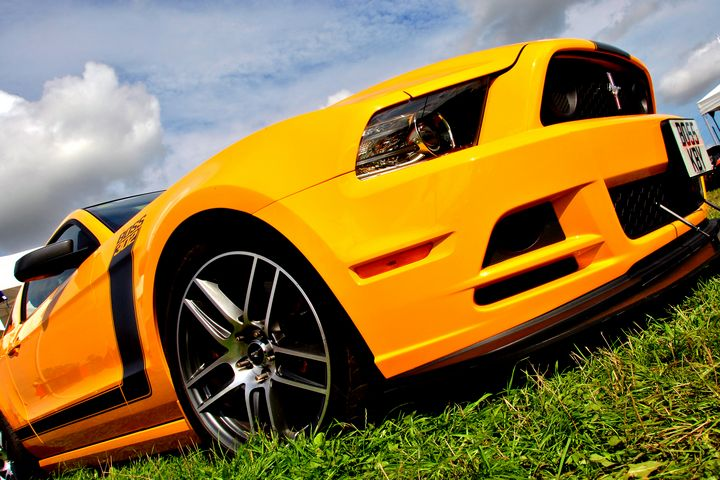 Ford Mustang Sports Motor Car - Andy Evans Photos