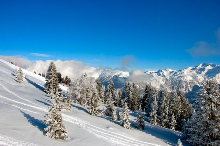 Courchevel 3 Valleys French Alps - Andy Evans Photos