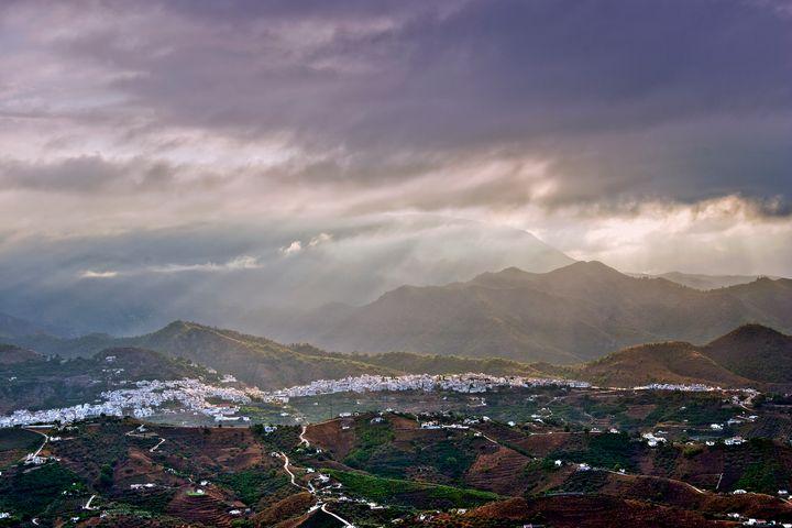 Frigiliana Costa del Sol Spain - Andy Evans Photos