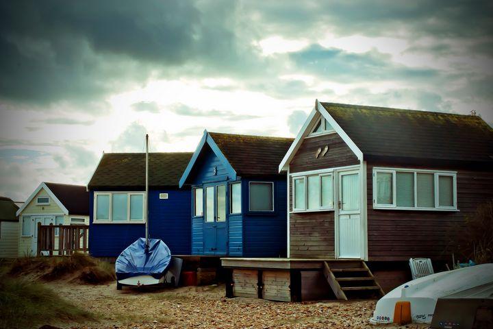 Hengistbury Head Beach Huts Dorset - Andy Evans Photos