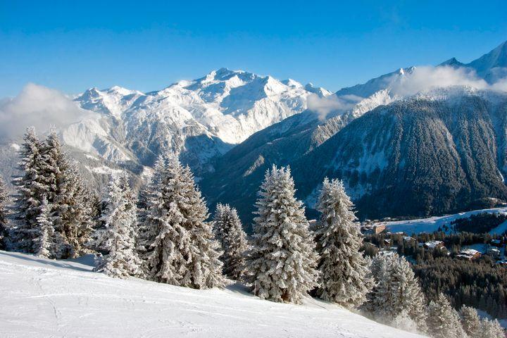 Courchevel 1850 3 Valleys France - Andy Evans Photos