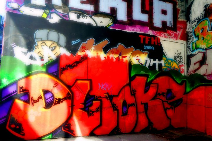 Southbank Skate Park Graffiti Street - Andy Evans Photos