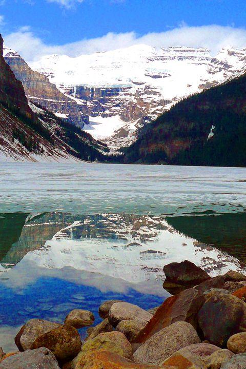 Lake Louise Victoria Glacier Alberta - Andy Evans Photos