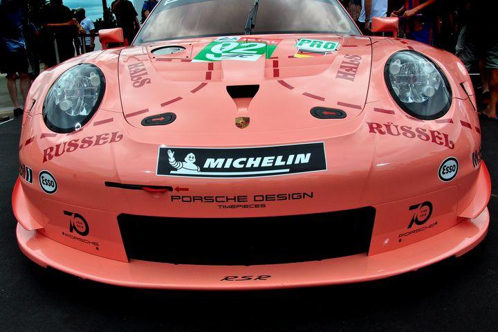 Porsche 911 RSR Pink Pig - Andy Evans Photos