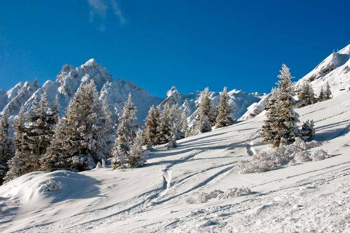 Courchevel 1850 French Alps France - Andy Evans Photos