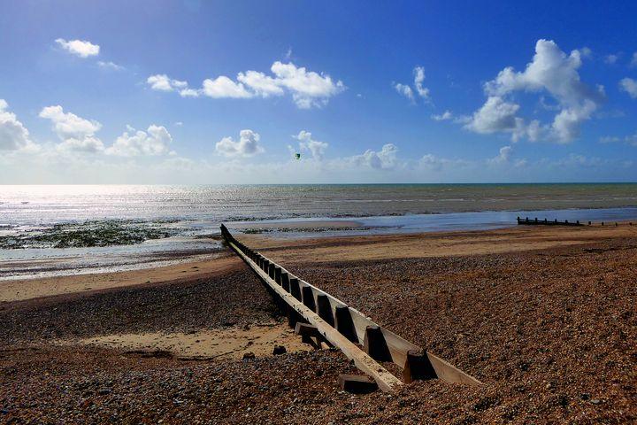 Angmering on Sea Beach Sussex Englan - Andy Evans Photos