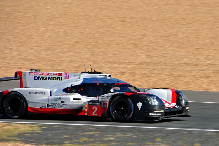 Porsche 919 Hybrid no2 Le Mans 2017 - Andy Evans Photos