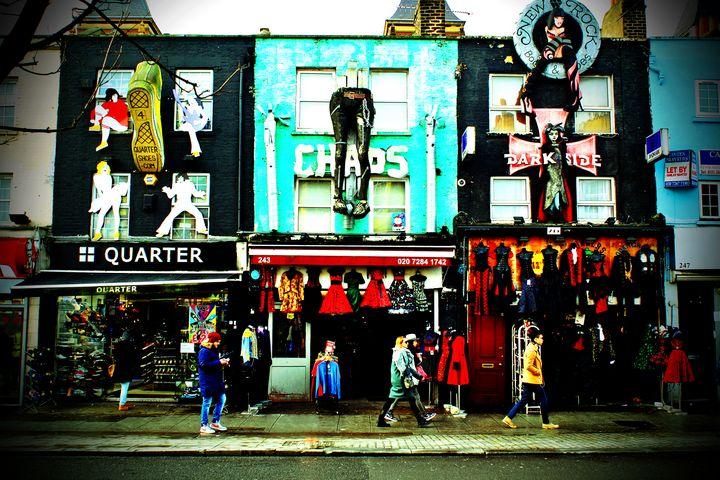 Camden High Street London England - Andy Evans Photos