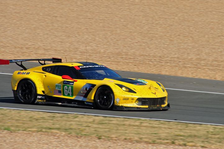 Chevrolet Corvette C7.R no64 Le Mans - Andy Evans Photos