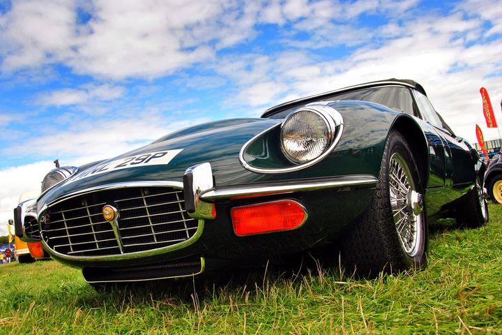 E-Type Jaguar Classic Motor Car - Andy Evans Photos