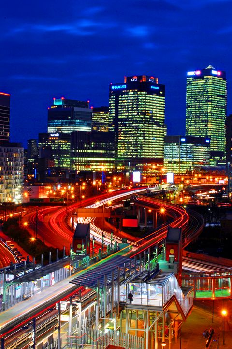 East India Dock Station Canary Wharf - Andy Evans Photos